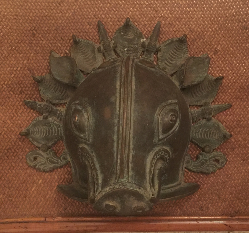 Varaha - Boar Avatar - Tribal Bronze Art